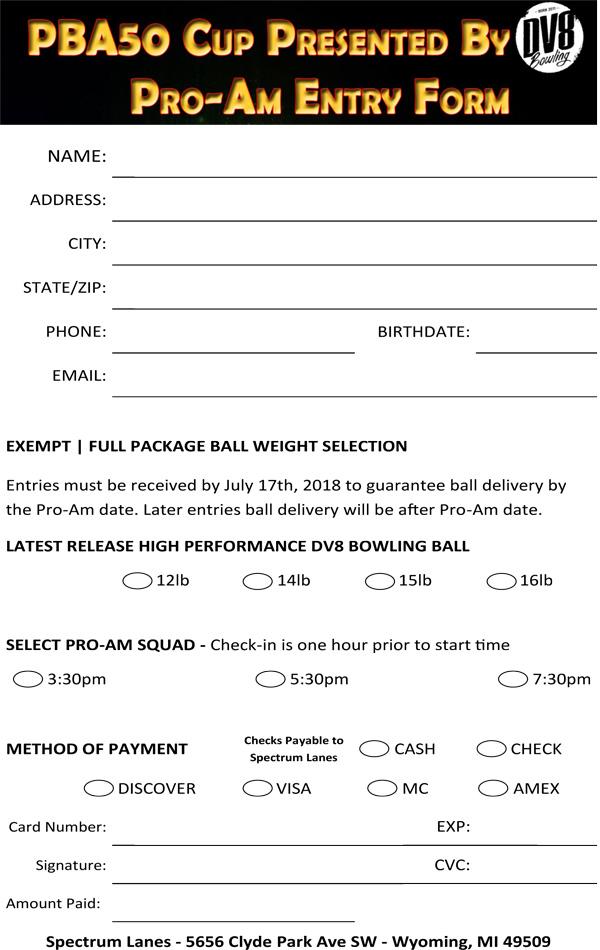 PBA50 Cup Pro-Am Form2