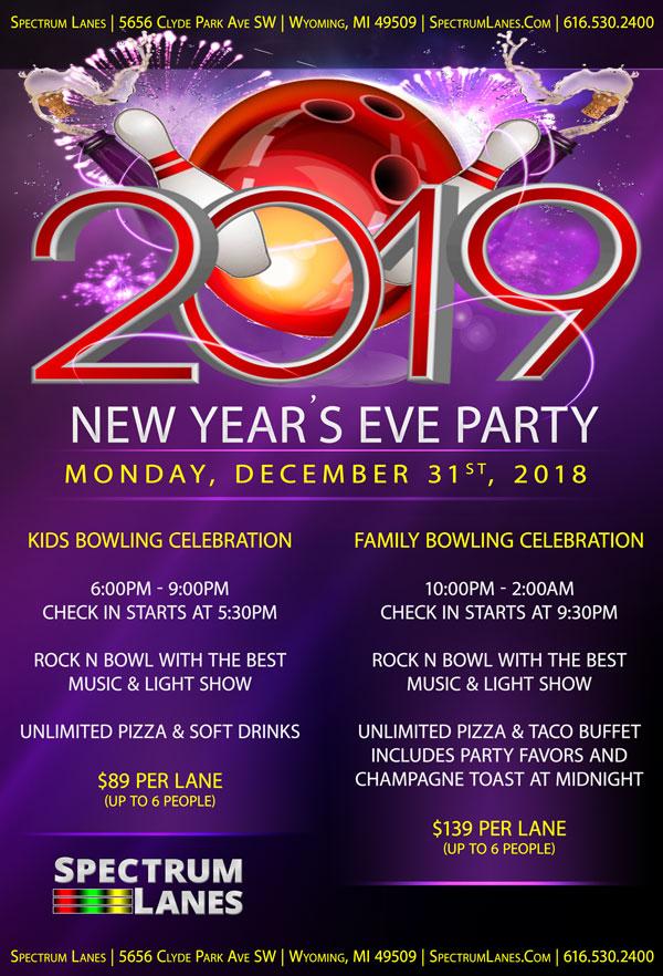 NYE Bowling Celebration