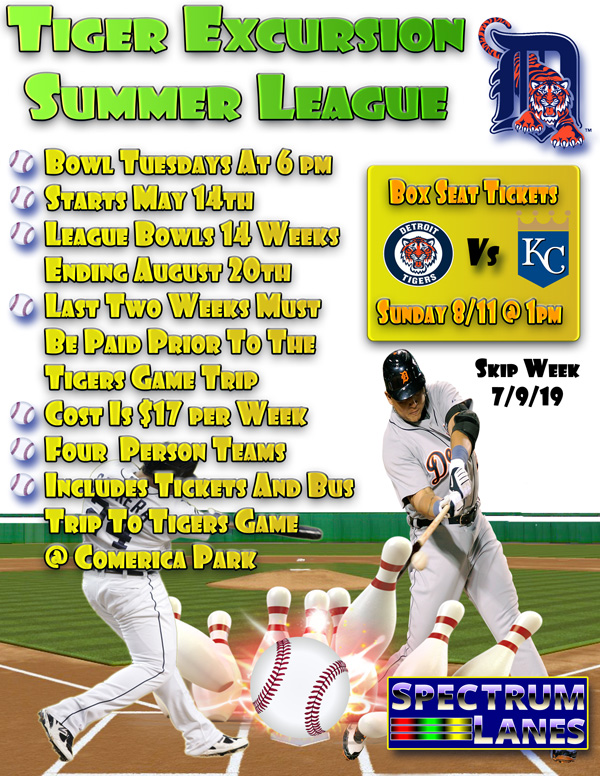Tuesday Tigers Summer League